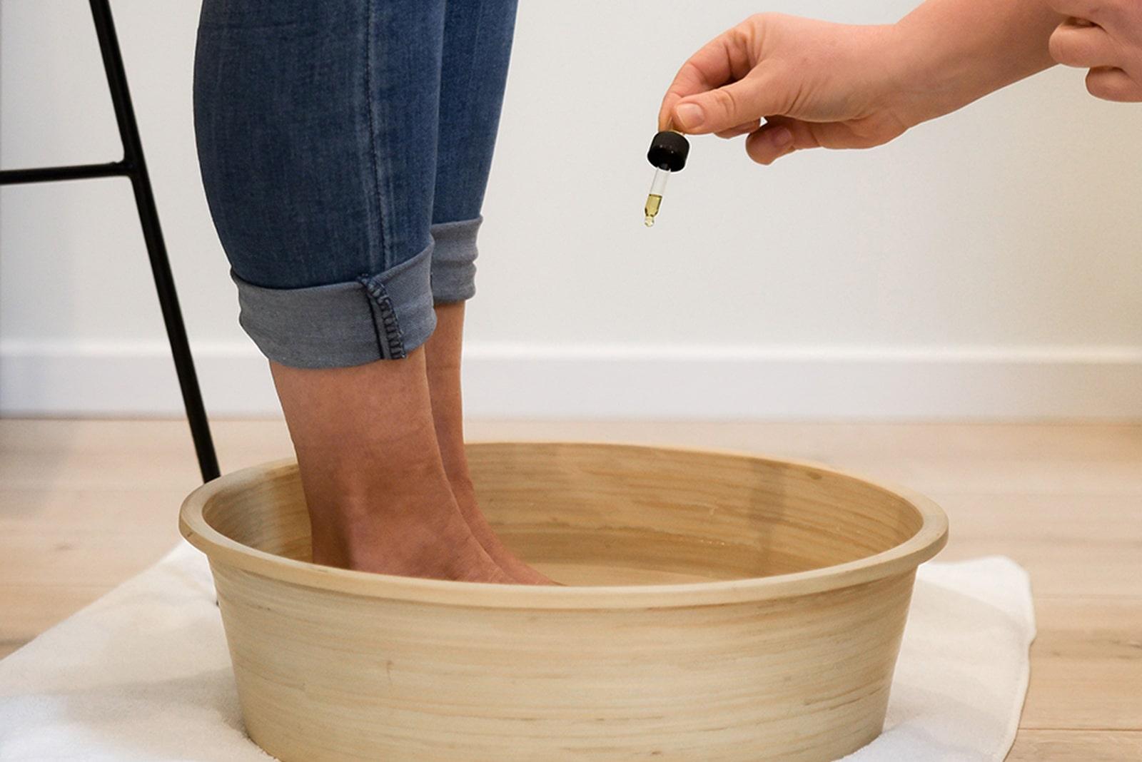 voetenbad huidverzorging puur en passie-