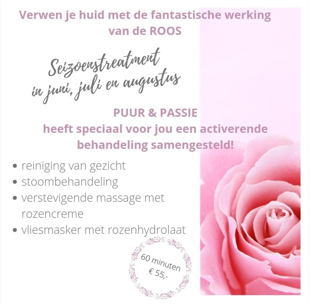 rozenbehandeling-huidverzorging puur en passie